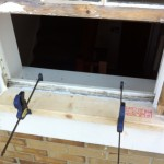 Window re-furnish before