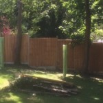 Fence before after