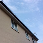 Cladding guttering snowguard