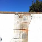 Wall repair/ redec