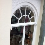 Window re-furb before/after